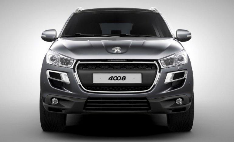 2012 Peugeot 4008 front