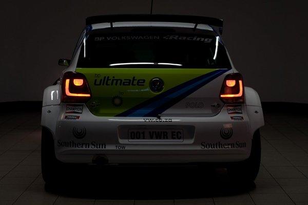 2012 Volkswagen Polo S2000 rear at dark