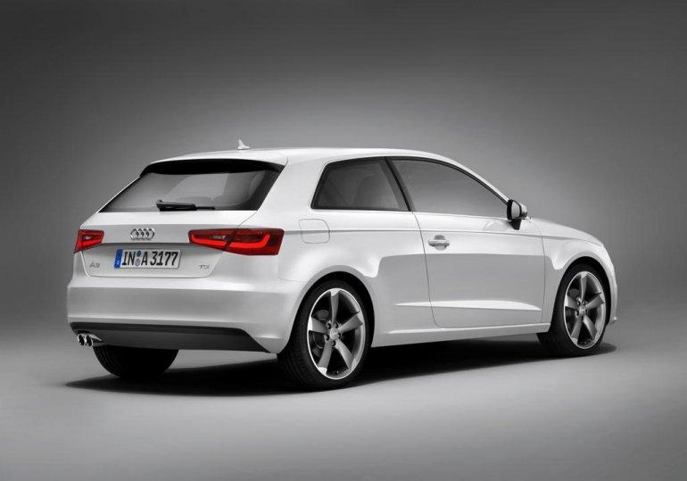 2013 Audi A3 rear three quarters