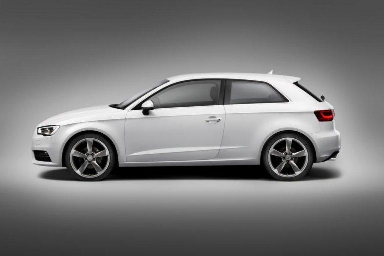 2013 Audi A3 side profile