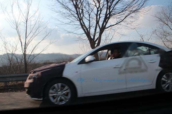 Chevrolet Cruze facelift side