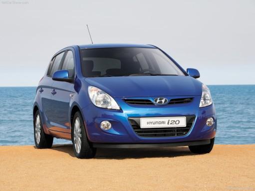 Hyundai i20 front end