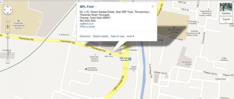 MPL Ford Taramani Chennai