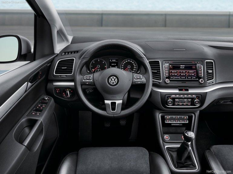 Volkswagen Sharan dashboard