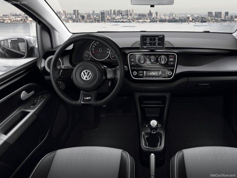 Volkswagen-Up interiors dashboard