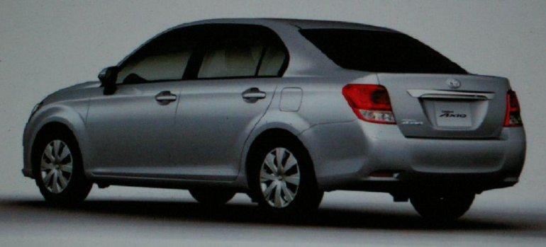 12th Generation Toyota Corrola rear