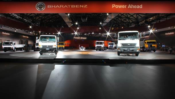Bharat Benz trucks