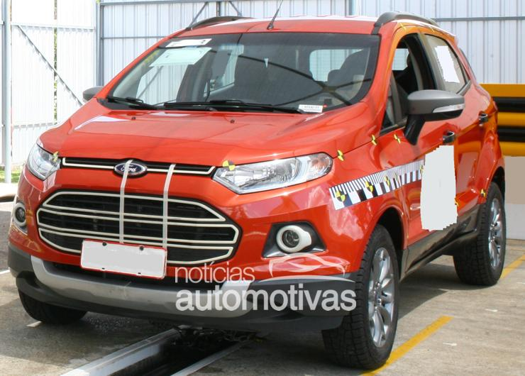 2012 Ford EcoSport production model