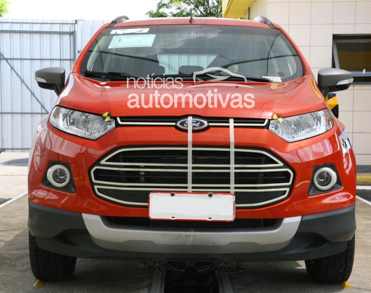 2012 Ford EcoSport front fascia