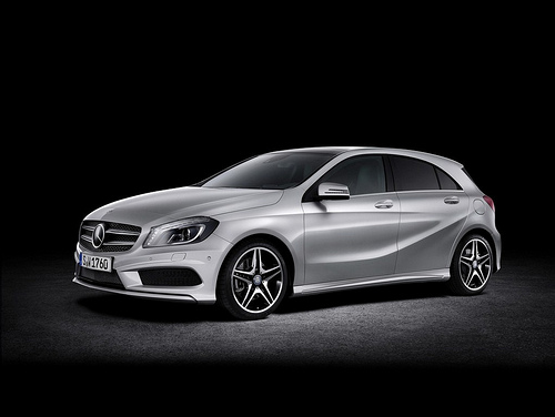 2013 Mercedes A-Class side view