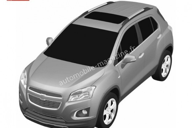 Chevrolet Compact SUV patents side