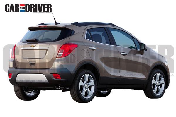 GM mini SUV rear