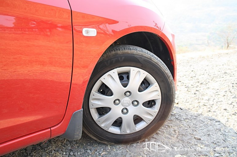 Honda Brio wheels
