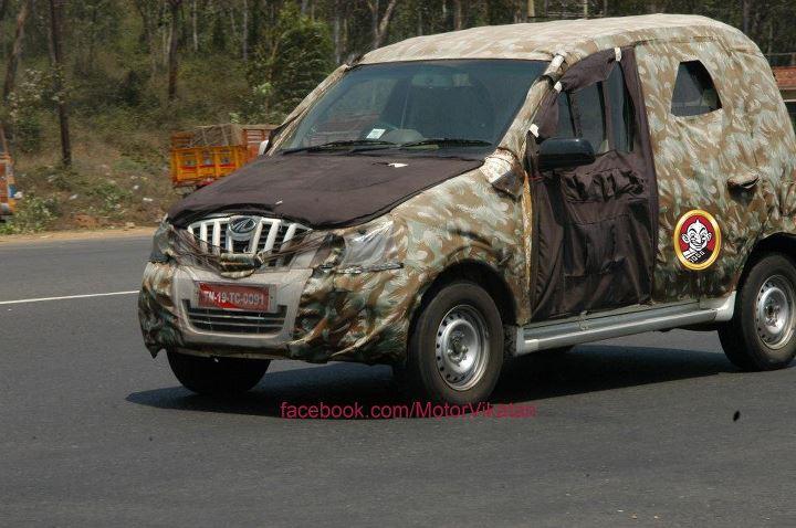 Mahindra Mini Xylo spyshots side
