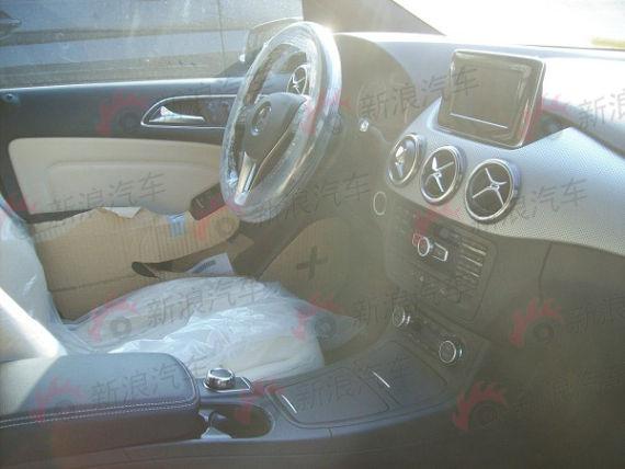 Mercedes Benz B-Class China interiors