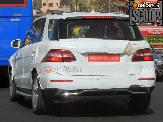 Mercedes Benz ML-Class Pune testing