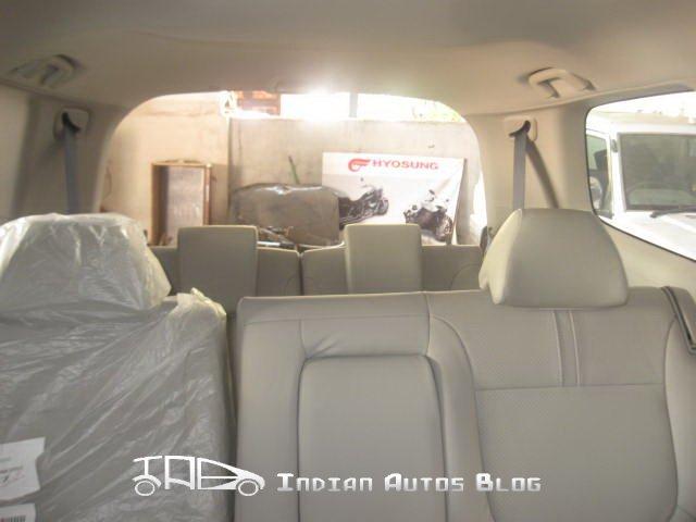 Mitsubishi Pajero Sport seats
