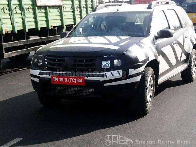 Renault Duster testing in Chennai