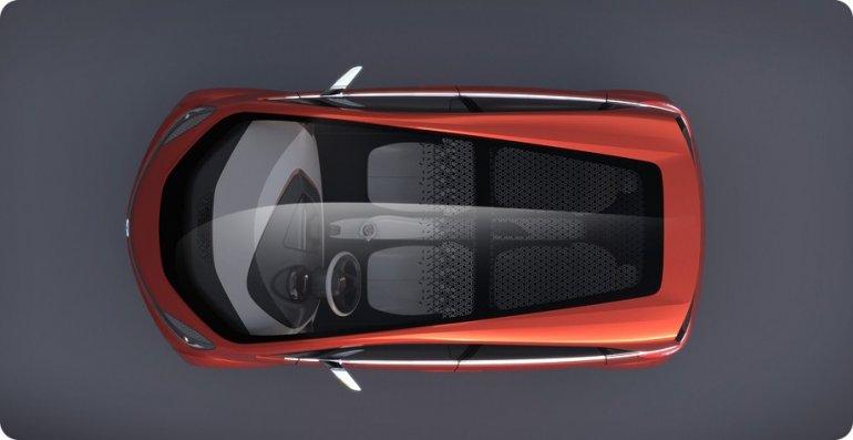 Tata Megapixel Concept top view