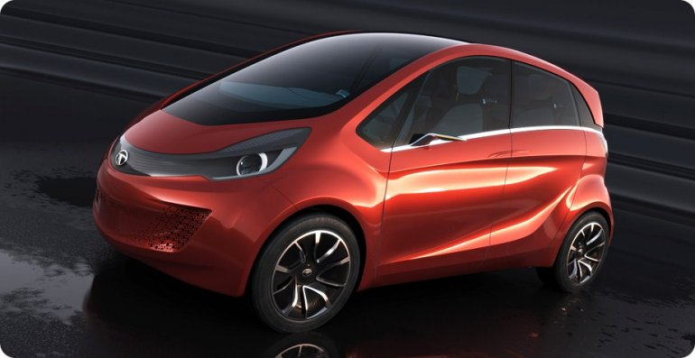 Tata Megapixel Concept front three quarters