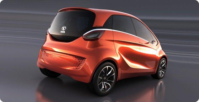 Tata Megapixel Concept rear three quarters