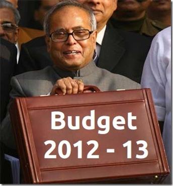 2012 Union Budget