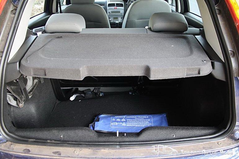 2012 Fiat Punto boot
