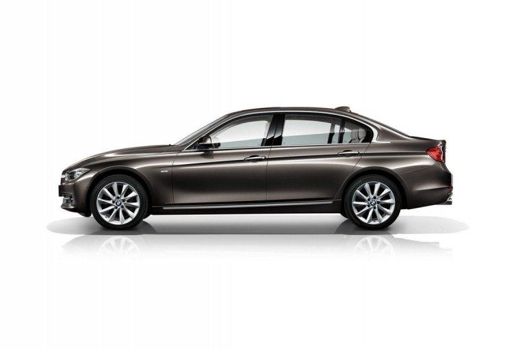 BMW 3 Series LWB China side profile