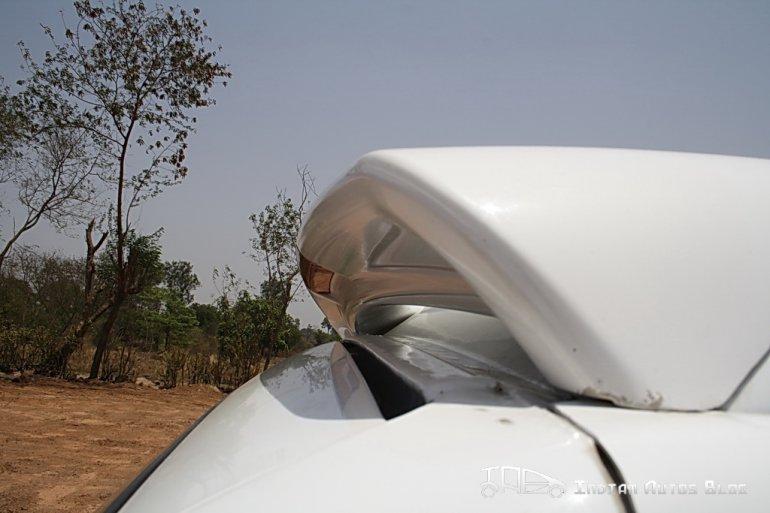 Force One rear spoiler