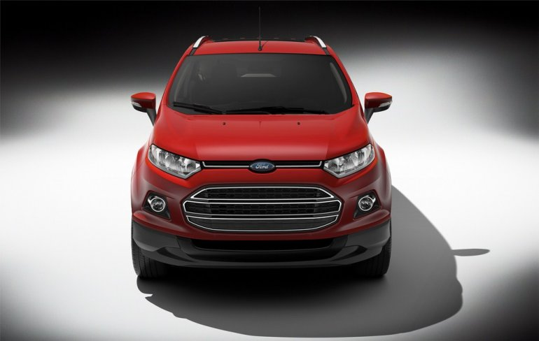 Ford EcoSport press images front fascia