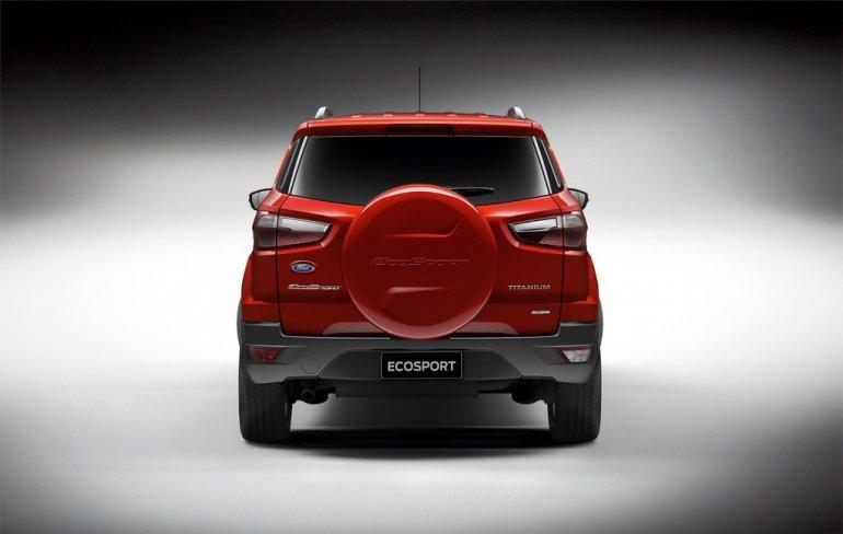 Ford EcoSport press images rear fascia