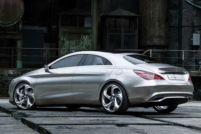 Mercedes CSC rear