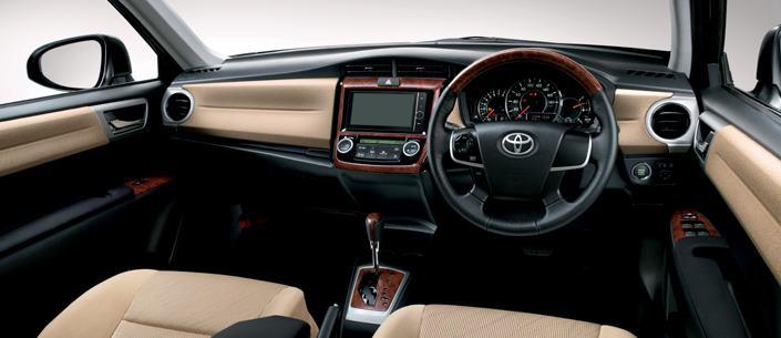 2012 Toyota Corolla Axio dashboard