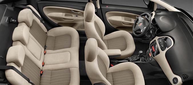 2013 Fiat Linea facelift seats