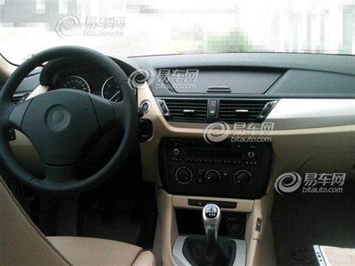 BMW X1 Beggars Edition China interior