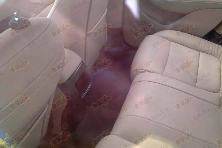Fiat Viaggio rear seat comfort
