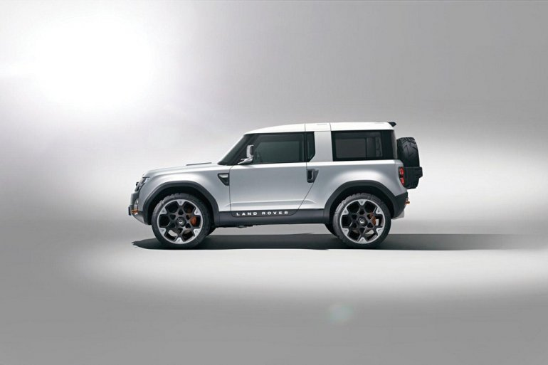 Land Rover Defender Concept 100 side profile