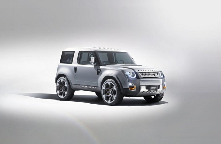 Land Rover Defender Concept 100 front three quarters