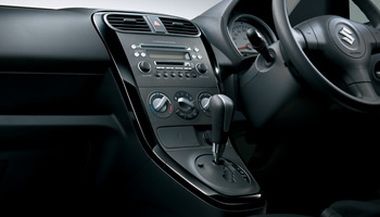 Maruti Ritz facelift center console