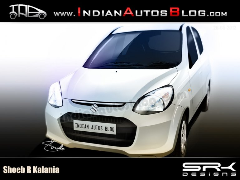 Maruti YE3 or Maruti Alto and Maruti 800 replacement