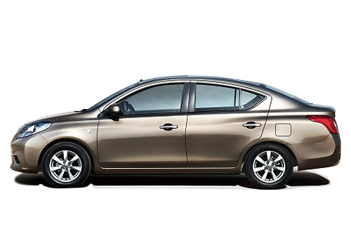Nissan Sunny side profile