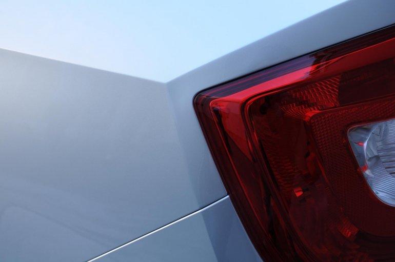 Skoda Rapid for the European market tail light assembly