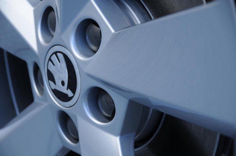 Skoda Rapid for the European market alloy wheels
