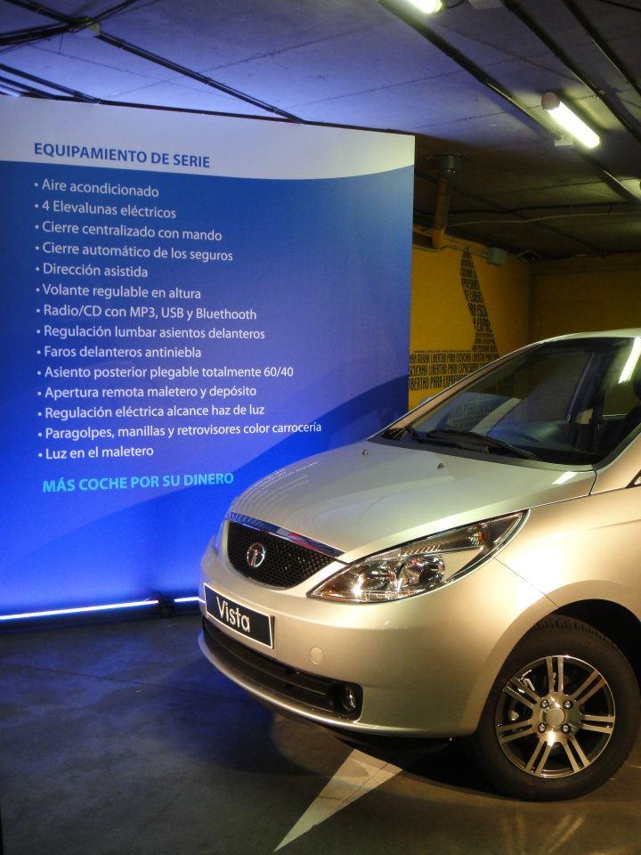 Tata Vista Spain - feature list