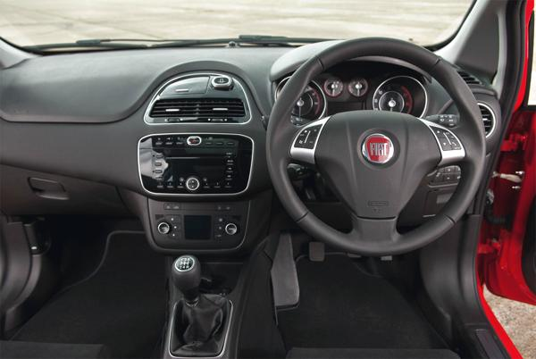 2013 Fiat Punto in the UK dashboard