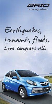 Honda SIEL earthquake Tsunami