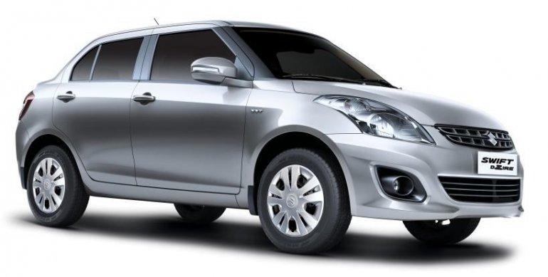 Suzuki Swift Dzire Uruguay front end