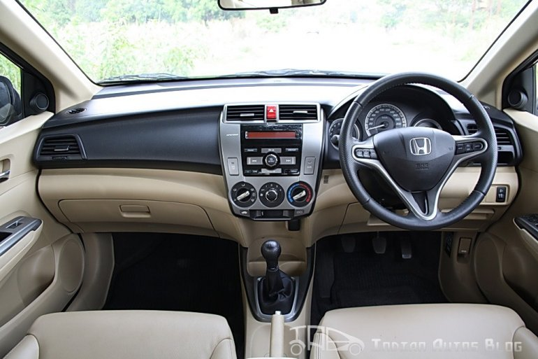 2012 Honda City Interiors