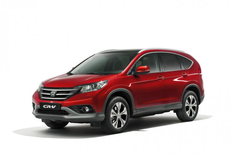 2013 Honda CRV European model front