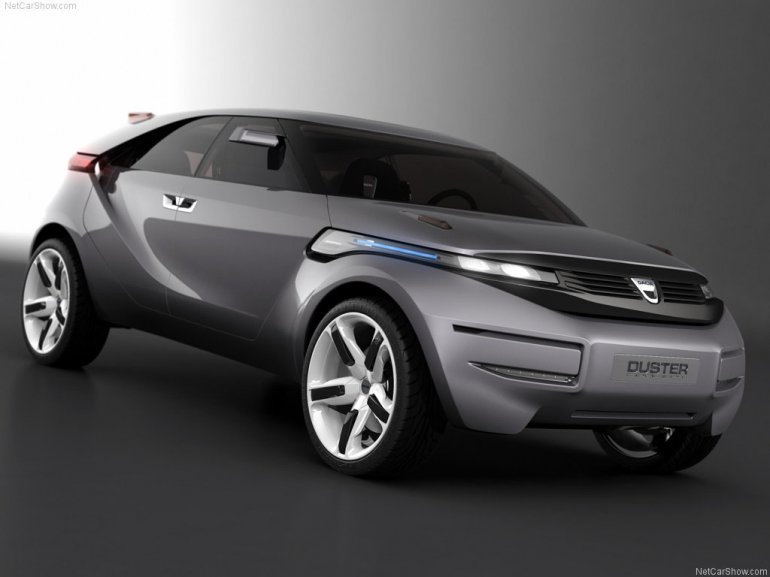 Dacia Duster Concept front